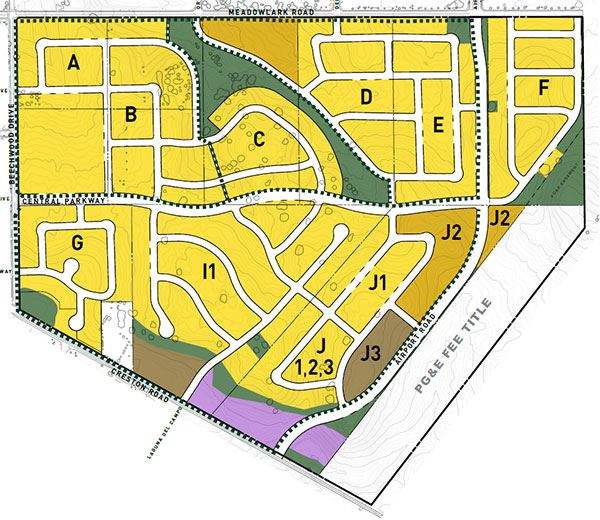 Beechwood Specific Plan - Layout Exhibit