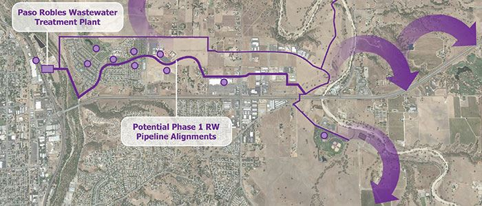 Recycled Water System Map