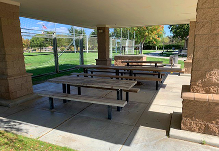Soccer Plaza Tables