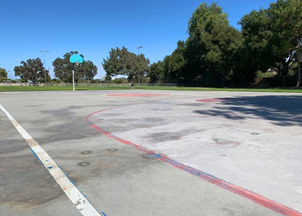 Pioneer Basketball Court