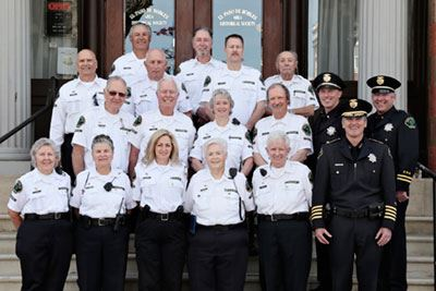 Police Department Community Volunteer Patrol Program Group Photo (CVPP)