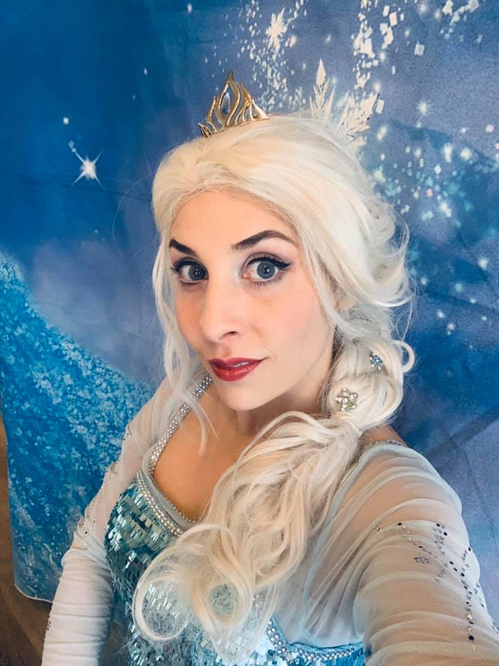 Birthday Wishes from Queen Elsa